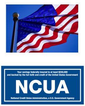NCUA savings are federally insured