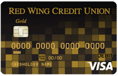 Red Wing Gold VISA Credit Card